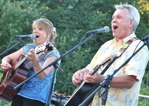 Chuck and Mud perform July 10 at the Summer Concert Series on the Neary Elementary School grounds. Photo/Ed Karvoski Jr.