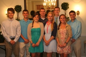 Southborough's Town Scholarship recipients (Photo/submitted)