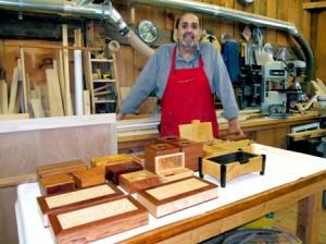 SH Aslanians Joe working on boxes