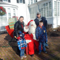 Jim and Kerry Claflin with sons Nicholas, 5 and Michael, 8 Photos/Melanie Petrucci