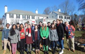 The Shrewsbury High School a cappella Choir  Photos/Melanie Petrucci