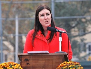 State Rep. Hannah Kane speaks of her firsthand experience with Dean Park.