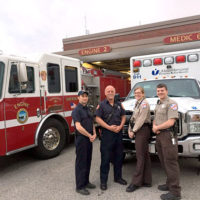 Members of Shrewsbury's EMS staff