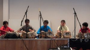 Tabla Group from New England School of Music.