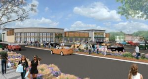 A depiction of the proposed Lakeway Commons. Photo/courtesy Grossman Development Group