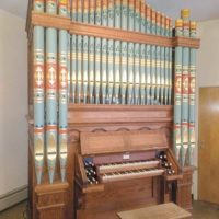Woodberry & Harris Tracker Organ at Mount Olivet Lutheran Church in Shrewsbury Photo/submitted