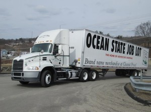 This 18-wheeler was a welcome sight March 25 as it came bearing 40,000 of donations from the Ocean State Job Lot headquarters in North Kingstown, R.I.