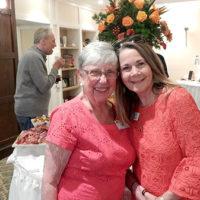 Cathy Vinton (l), a residence ambassador with Valerie Houshar, executive director Photo/Melanie Petrucci