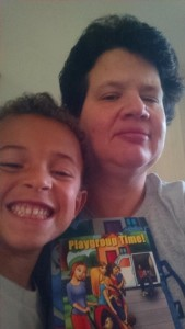 Shrewsbury mother Robbin Miller and her son E.J. (Photo/submitted)