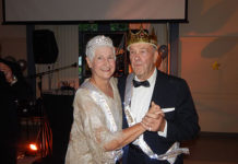 Queen Barbara Cotoia and King David Firmin