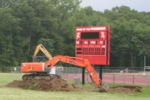 SJ field renovation