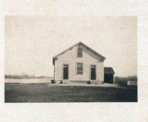 The No. 7 Schoolhouse was originally located on the corner of what is now Route 9 and Crescent Street. I 1885 the school was moved to the corner of Hascall amd Wesleyan streets. It no longer exists.