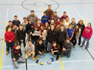 Assabet Drafting students recently competed with their remote controlled racecar at an event sponsored by Ten80. (Photo/submitted)
