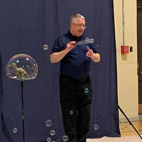 Keith Johnson explains the science behind bubbles