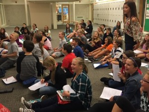 "Students reflect on ""The Fourteenth Goldfish"" by Jennifer L. Holm."