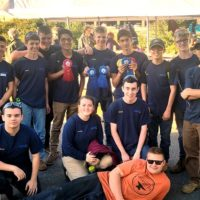 Assabet Valley Metal Fabrication students attend the 15th annual Fitchburg Forge, a Blacksmithing contest. Photo/submitted