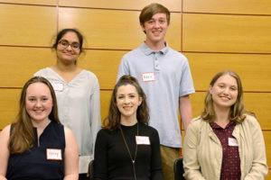 Northborough Rotary Scholarship recipients