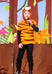 Marin Trendel performs as the role of Shere Khan the tiger