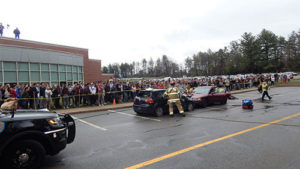 RHS students learn about the effects of marijuana and alcohol on driving. Photos/Melanie Petrucci