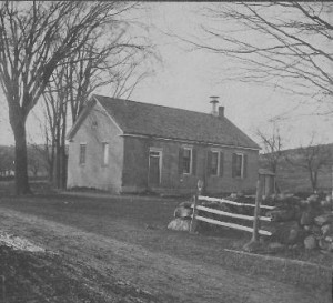 The West School, built in 1847, still stands today at 264 Church St.