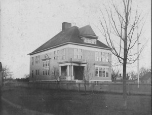 The Hudson Street School, which was built in 1895.