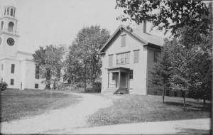 The original Northborough High School which opened in 1866.