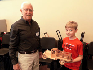 Richard Prince and his grandson Will