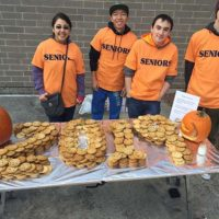 Students from the M.O.V.E. show off their baked treats Photo/courtesy Mary Simone