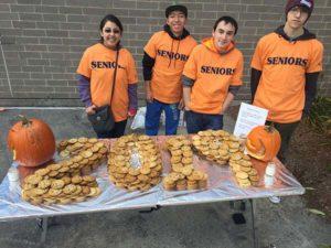 Students from the M.O.V.E. show off their baked treats Photo/courtesy Mary Simone