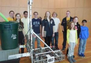 Sch SHS Robotics Team at FSS (2)