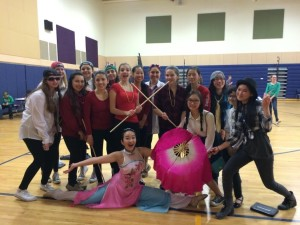 Shrewsbury High School students enjoy an event hosted by the National Chinese Honor Society. (Photo/Melanie Petrucci)