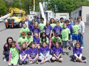 Photo 3: Kelly Finneran's fourth-grade class from the Calvin Coolidge School. Photos Submitted