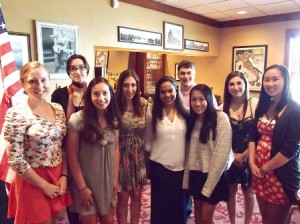 The 2014 Westborough High School scholarship recipients. (Photo/submitted)