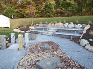 The new outdoor classroom Photo/Bonnie Adams