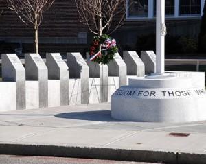 The new World War I Memorial is dedicated Veterans Day, Nov. 11.