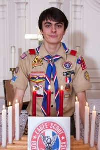 Eagle Scout Anthony Moriondo (Photo/submitted)