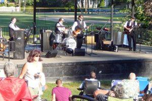 Beatles for Sale perform at Dean Park.