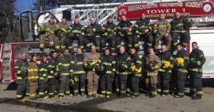 Massachusetts Firefighting Academy's Career Firefighter Recruit Class #207