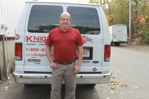 Michael Hogan, president and owner of Knight's Airport Limousine Service Photo/submitted