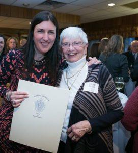 Rep. Hannah Kane (left) and Elaine LeBlanc (Photo/submitted)