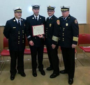 Sh fire captain graduates cr