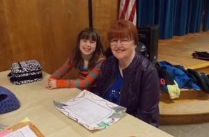 Jordan Cooksey and her grandmother Pat