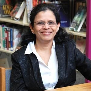 Priya Rathnam, assistant director of the Shrewsbury Public Library Photo/Ed Karvoski Jr.