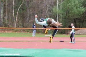 HIGH JUMP: Wachusett Event Winner Sara James (Sophomore)