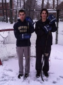 Dan (left) and Jack Quinlivan (right). (Photo/submitted)