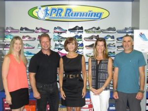 Cindy Libbey, Corridor Nine; David Bagdon, Community Advocate; Karen Chapman, Corridor Nine; Dawn Smith, Oasis Financial Services; and Keith Pellerin, PR Running Photo/submitted