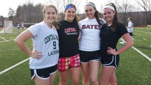 (l to r) - Cassie Moisan, Lauren Lyver, Gianna DiPinto, and Allie Fasold Photo/submitted