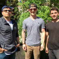 (l to r) Charles Santamaria, Derek Jordan and Paul Averi, Photo/submitted