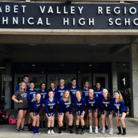 Assabet Valley's varsity volleyball team. Photo/submitted