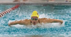 Dorian McMenemy swims the butterfly. (Photo/submitted)